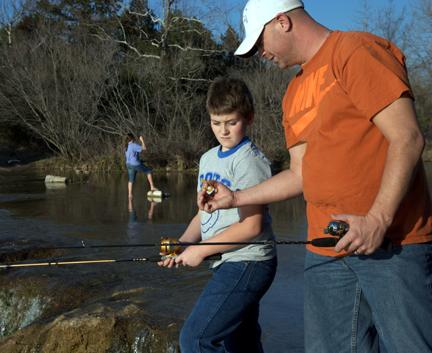 Fishing in oklahoma for Enid lake fishing report