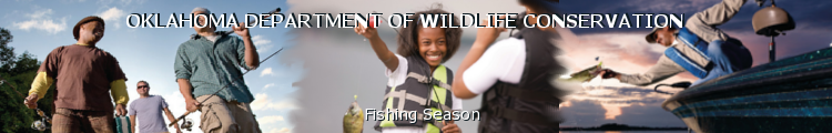 Odwc license description for Oklahoma lifetime fishing license