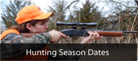 Hunting Season Dates